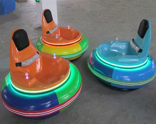 fairground inflatable bumper cars