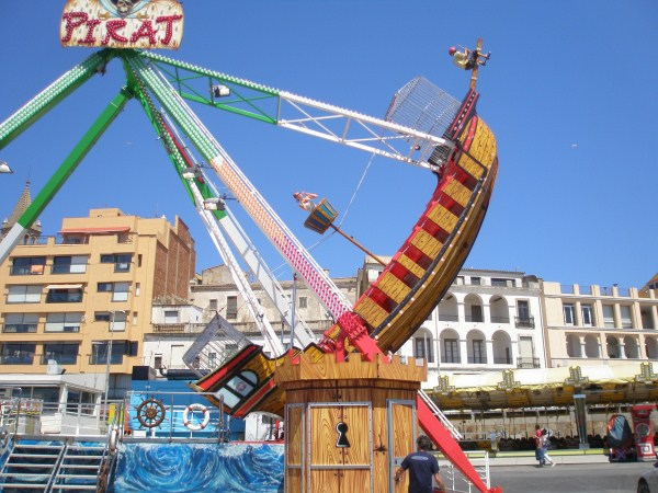 Restyling Pirate Ship ride