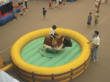kids fairground mechanical bull