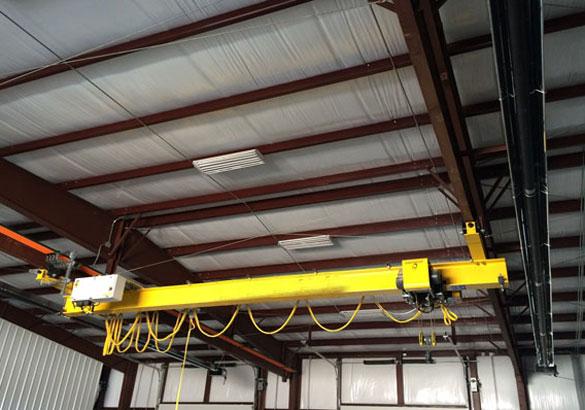 Small overhead crane for sale