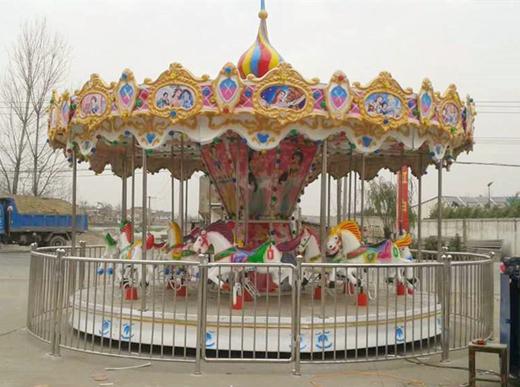 Fairground carousel for kids