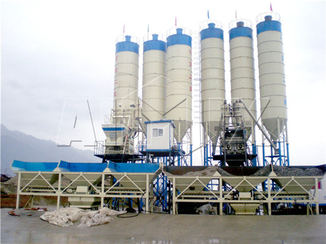 buy concrete mixing plant