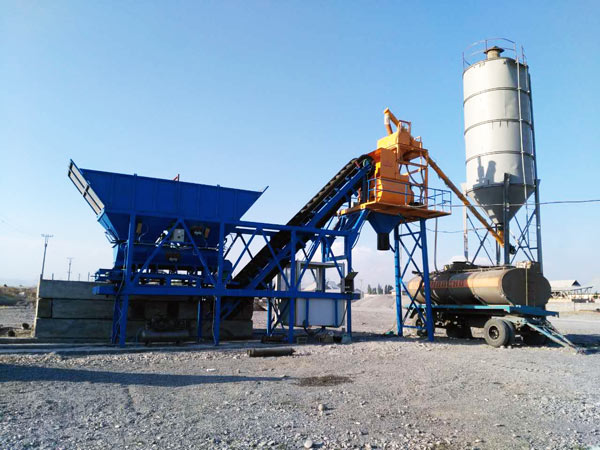 portable concrete batching plant sale